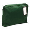 MMF Industries Expandable Dark Green Transit Sack, 18w x 14h x 4d