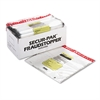 MMF Industries 8 Bundle Capacity Tamper-Evident Cash Bags, 20 x 20, Clear, 250 Bags/Box