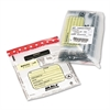 MMF Industries Tamper-Evident Deposit/Cash Bags, Plastic, 9 x 12, Clear, 100 Bags/Box