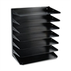 Steelmaster Steelmaster Multi-Tier Horizontal Legal Organizers, Seven Tier, Steel, Black