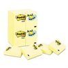Original Pads in Canary Yellow, 1 1/2 x 2, 90-Sheet, 24/Pack