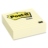 Post-it Original Lined Notes, 4 x 4, Canary Yellow, 300-Sheet