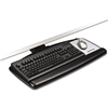 "Easy Adjust Keyboard Tray, Standard Platform, 23"" Track, Black"