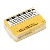 Commercial Cellulose Sponge, Yellow, 4 1/4 x 6