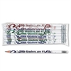 Moon Products Decorated Wood Pencil, Fifth Graders Are #1, HB #2, White, Dozen