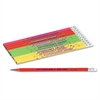 Moon Products Decorated Wood Pencil, Attendance Award, HB #2, Assorted Colors, Dozen