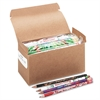 Moon Products Award Woodcase Pencil, Party Assortment, HB #2, 144/box