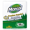 Marcal Executive Dinner Napkins, Twp-Ply, 17 x 15, White, 1600/Carton