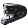 Max Flat Clinch Light Effort Stapler, 35-Sheet Capacity, Black