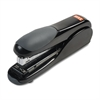 Max Flat-Clinch Standard Stapler, 30-Sheet Capacity, Black