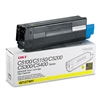 Oki 42127401 High-Yield Toner (Type C6), 5000 Page-Yield, Yellow