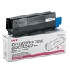 Oki 42127402 High-Yield Toner (Type C6), 5000 Page-Yield, Magenta