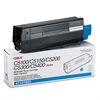 Oki 42127403 High-Yield Toner (Type C6), 5000 Page-Yield, Cyan
