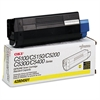 Oki 42804501 Toner (Type C6), 3000 Page-Yield, Yellow