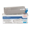 Oki 43324403 High-Yield Toner (Type C8), 5000 Page-Yield, Cyan