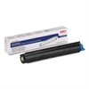 Oki 43640301 Toner, 2000 Page-Yield, Black