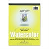 Pacon Artist Watercolor Paper Pad, 9 x 12, White, 12 Sheets