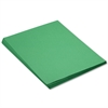 Construction Paper, 58 lbs., 18 x 24, Holiday Green, 50 Sheets/Pack