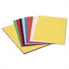 Pacon Peacock Sulphite Construction Paper, 76 lbs., 12 x 18, Assorted, 50 Sheets/Pack