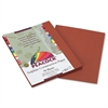 Pacon Peacock Sulphite Construction Paper, 76 lbs., 9 x 12, Brown, 50 Sheets/Pack