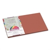 Pacon Peacock Sulphite Construction Paper, 76 lbs., 12 x 18, Brown, 50 Sheets/Pack