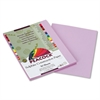 Pacon Peacock Sulphite Construction Paper, 76 lbs., 9 x 12, Lilac, 50 Sheets/Pack
