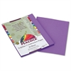 Pacon Peacock Sulphite Construction Paper, 76 lbs., 9 x 12, Violet, 50 Sheets/Pack