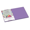 Pacon Peacock Sulphite Construction Paper, 76 lbs., 12 x 18, Violet, 50 Sheets/Pack