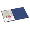 Pacon Peacock Sulphite Construction Paper, 76 lbs., 12 x 18, Dark Blue, 50 Sheets/Pack