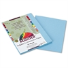Peacock Sulphite Construction Paper, 76 lbs., 9 x 12, Sky Blue, 50 Sheets/Pack