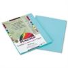 Peacock Sulphite Construction Paper, 76 lbs., 9 x 12, Turquoise, 50 Sheets/Pack