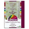 Pacon Peacock Sulphite Construction Paper, 76 lbs., 9 x 12, Burgundy, 50 Sheets/Pack