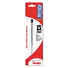 Pentel Refill for Pentel Client Ballpoint Pen, Medium, Black Ink
