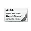 Pentel Eraser Refills, E10, 3/Tube