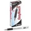 EasyTouch Ball Point Stick Pen, Black Ink, 1mm, Dozen