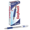Pilot EasyTouch Ball Point Stick Pen, Blue Ink, 1mm, Dozen