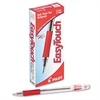 Pilot EasyTouch Ball Point Stick Pen, Red Ink, 1mm, Dozen