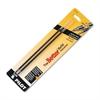 Refill, Non-retract Better/BetterGrip/EasyTouch Ballpoint, Med, BLK, 2/Pack
