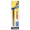 Pilot Refill, Non-retract Better/BetterGrip/EasyTouch Ballpoint, Med, Blue, 2/Pack
