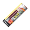 Refill for G2 Gel, Dr. Grip Gel/Ltd, ExecuGel G6, Q7, Extra Fine, Red, 2/Pack