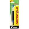 Pilot Refill for Precise V5 RT Rolling Ball, Extra Fine, Blue Ink, 2/Pack