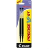 Refill for Precise V7 RT Rolling Ball, Fine Black Ink, 2/Pack