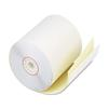 "Two Ply Receipt Rolls, 2 3/4"" x 90 ft, White/Canary, 50/Carton"