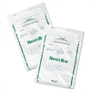 PM Company Securit Plastic Money Bags, Tamper Evident, 9 x 12, White, 50/Pack