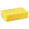 Large Cellulose Sponge, 4 3/10 x 7 4/5, Yellow, 24/Carton