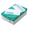 1-Window Redi Seal Security Tinted Envelope, #10, 4 1/8 x 9 1/2, White, 500/Box