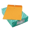 Quality Park Clasp Envelope, 11 1/2 x 14 1/2, 32lb, Brown Kraft, 100/Box