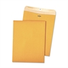 Quality Park 100% Recycled Brown Kraft Clasp Envelope, 9 x 12, Brown Kraft, 100/Box