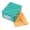 Open Side Booklet Envelope, 12 x 10, Brown Kraft, 100/Box