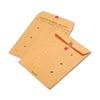 Quality Park Brown Kraft Kraft String & Button Interoffice Envelope, 9 x 12, 100/Carton